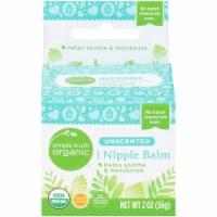 Simple Truth Organic™ Unscented Nipple Balm - 2 oz