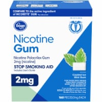 Kroger® Coated Ice Mint Nicotine Gum 2mg