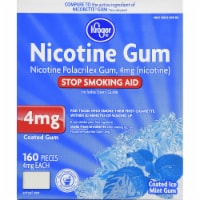 Kroger® Coated Ice Mint Nicotine Gum 4mg