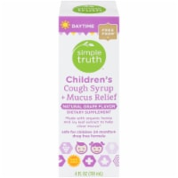 Simple Truth™ Children's Daytime Cough Syrup and Mucus Relief Grape
