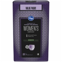 Kroger® Large Maximum Hold Woman's Underwear 32 Count