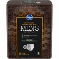 Kroger® S/M Maximum Absorbency Underwear for Men - 18 ct