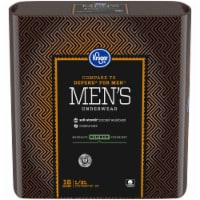 Kroger® L/XL Maximum Absorbency Underwear for Men