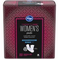 Kroger® Regular Length Moderate Absorbency Pads for Women