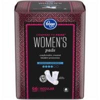 Kroger® Women's Regular Moderate Absorbency Pads 66 Count