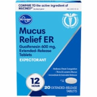 Kroger® Mucus Relief ER Expectorant Extended Release Tablets 600mg