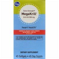 Kroger® Extra Strength MegaKrill Hearth Health Softgels 45 Count