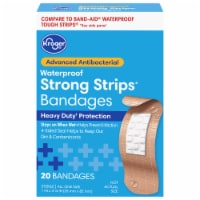 Kroger® Advanced Antibacterial Strong Strip Waterproof One Size Bandages