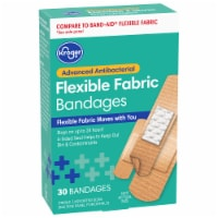 Kroger® Advanced Antibacterial Fabric Bandages Assorted Sizes