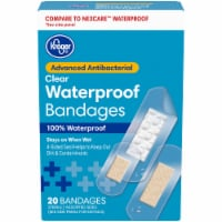Kroger® Advanced Antibacterial Waterproof Bandages Assorted Sizes 20 ct Box