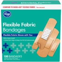Kroger® Fabric Bandages Assorted Sizes 100 Count