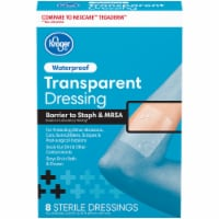 Kroger® Waterproof Transparent Dressing 8 Count