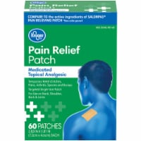Kroger® Medicated Topical Analgesic Pain Relief Patch 60 Count