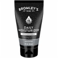 Bromley's™ For Men Daily Moisturizer With Sunscreen