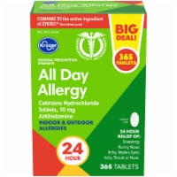Kroger® Original Prescription Strength All Day Allergy Antihistamine Tablets Box