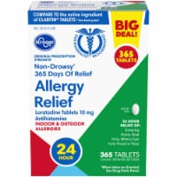 Kroger® Non-Drowsy Allergy Relief Tablets