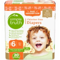Simple Truth™ Chlorine Free Size 6 Baby Diapers