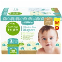 Simple Truth™ Chlorine Free Size 3 Baby Diapers