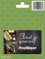 Fred Meyer Treat Yourself Gift Card
