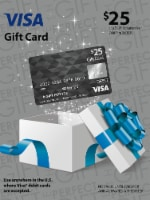 Visa $25 Gift Card ($3.95 activation fee)