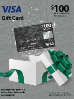 Visa $100 Gift Card ($5.95 activation fee)