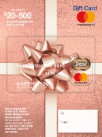 Mastercard $20-$500 Gift Card ($5.95 activation fee) - 1 ct