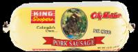 King Soopers City Market Pork Sausage Roll - 16 oz