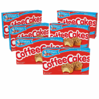 Drake's Coffee Cakes, 6 boxes, 48 Individually Wrapped Breakfast Pastries, Cinnamon - 48