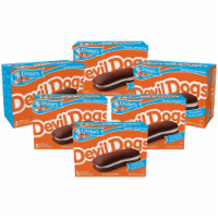 Drake's Devil Dogs, 6 Boxes, 48 Individually Wrapped Devils Food Cakes - 48