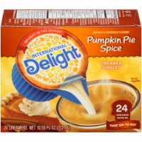 International Delight Pumpkin Spice Non-Dairy Coffee Creamer Singles 24 Count