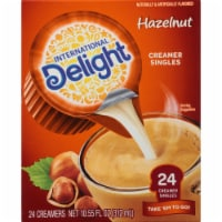 International Delight Hazelnut Creamer Singles