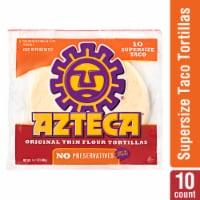 Azteca Flour Tortillas - 10 Count