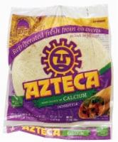 Azteca Homestyle Burrito Size Flour Tortillas 8 Count