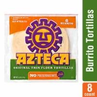 Azteca Burrito Flour Tortillas