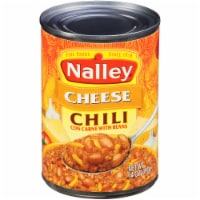 Nalley Chili Con Carne with Cheese & Beans
