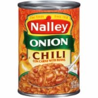 Nalley Onion Chili con Carne with Beans