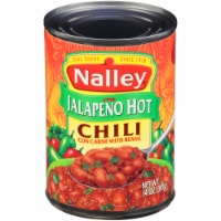 Nalley Jalapeno Hot Chili con Carne with Beans