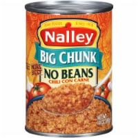 Nalley Big Chunk No Beans Chili con Carne