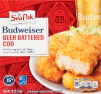 SeaPak Budweiser Beer Battered Cod Fillets