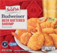 SeaPak Budweiser Beer Battered Oven Crunchy Shrimp