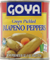 Goya Green Pickled Jalapeno Peppers