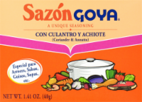 Sazon Goya Coriander and Annatto Seasoning