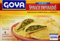 Goya Baked Spinach Empanadas with Cheese