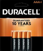 Duracell® AAA Alkaline Batteries - 4 pk