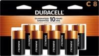 Duracell Coppertop C Alkaline Batteries - 8 pk