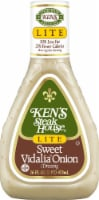 Ken's Steak House Lite Sweet Vidalia Onion Dressing