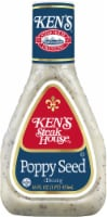Ken's Steak House Lite Poppy Seed Dressing