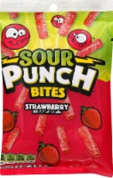 Sour Punch Strawberry Bites