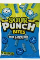 Sour Punch Bites Blue Raspberry Candy