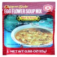 Kikkoman Chinese Style Egg Flower Soup Mix Hot & Sour - .88 oz